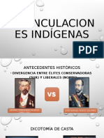 Exvinculaciones indígenas