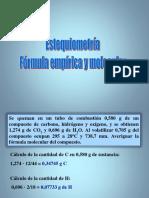 Formulas Moleculares 9 c2h6o