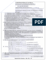 Examen Parcial Estadistica II 2009-II - Giraldo