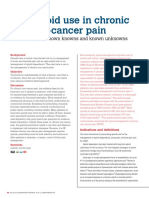 Opioid Use in Chronic Non-cancer Pain