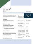 Datasheet Wesgo Ceramics Al500