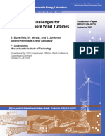 Engineering Challenges for Floating Offshore Wind Turbines