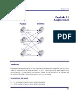 CAP. 11 Asignaciones