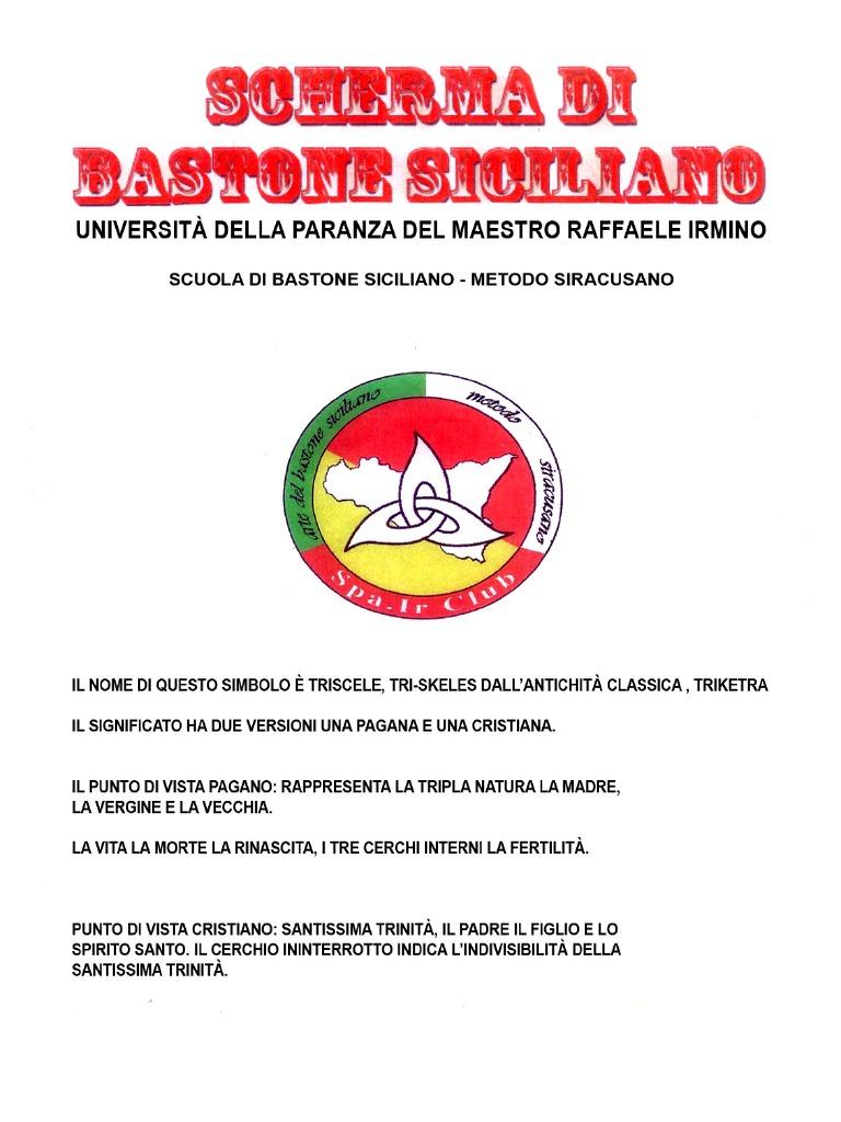 Con 2017 Bastone Siciliano Poesie Scherma Febbraio Di Ok8n0wP