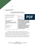 Complaint - Adversarial Proceeding (Bankruptcy)