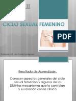 2. Ciclo Sexual Femenino.