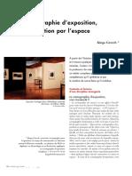 SCENOGRAPHIE EXPOSITION