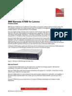 IBM Storwize V7000 for Lenovo