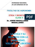 Ppt. Etica Clase 5 Agronomia