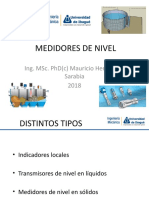 Medidores de Nivel-2018