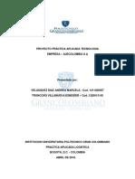 Proyecto Practica Aplicada Tecnologia Entrega 1