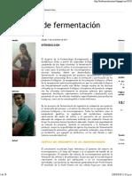 Métodos de Fermentación- 2013