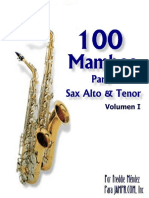 100.Mambos.sax.Alto.tenor.merengue
