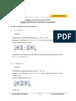 Inecuaciones y ecuaciones