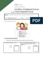 Evaluacion Formativa Unidad 3... 2016
