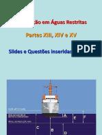 Partes XIII, XIV e XV - Slides e Questões de Navegação Inseridos Nas Aulas