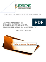 Presentacion Valoración de Empresas