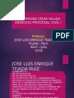 Derecho Procesal Civil I