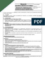 PP-E 08.01 Preparación, Administ. y Revisión de Proced. Escritos de Trabajo Seguro v.10
