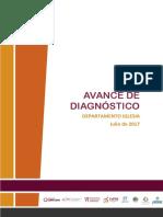 AVANCE DE DIAGNÓSTICO DEPARTAMENTO IGLESIA Julio de 2017