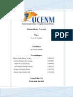 Informe Diseño de sistema de inventario