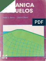 Mecanica de Suelos - Peter L. Berry & David Reid