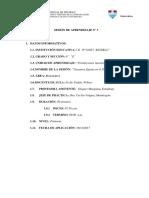 7. Sesion de Aprendizaje Matemática Docx