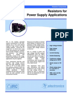 Irc PowerSupplyStudy