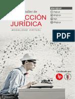 Brochure Redaccion Juridica 2da Edicion