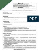 PP-E 12.01 Sistema de Acciones Correctivas y Preventivas v.08