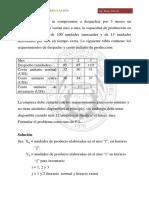 Prob Formulacion Investigacion de Operaciones