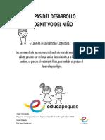 Etapas Del Desarrollo Cognitivo Del Niño