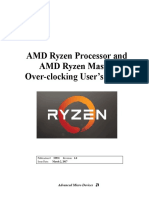 AMD Ryzen Processor and AMD Ryzen Master Overclocking Users Guide