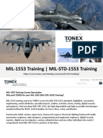 MIL-1553 Training for Air Force, Navy, Army, and Marine