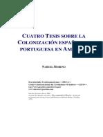 01 - NM - Cuatro Tesis Sobre La Colonizaciòn Espanola