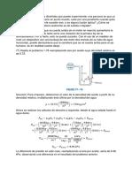 Problemas Capítulo 1 Termodinámica I