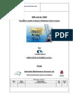 CCE Espoir WHP Crane Condition Audit Reports