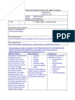 assessment and care plan