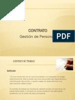 Contrato y Remuneraciones