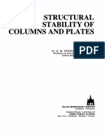 [Ellis Horwood Series in Civil Engineering] N.G.R. Iyengar - Structural Stability of Columns and Plates (1988, E. Horwood_ Halsted Pres
