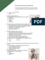 Latihan Soal Biologi Kelas Xi Semester 2