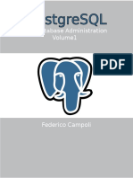 PostgreSQL Database Administration Vol 1