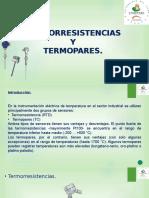 Termopares y termorresistencias.