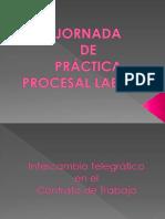 Jornada de Practica Procesal Laboral Octubre 2017