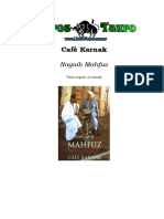 Mahfuz, Naguib - Cafe Karnak