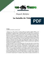 Mahfuz, Naguib - La Batalla de Tebas