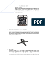 Materiales Para Dron