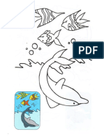 Dibujos escaneados de animalitos para pintar