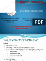 ME 159 Part 2 Geometric Construction