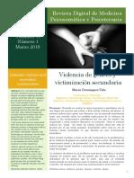 Violencia de Geneo y Victimizacion Secundaria